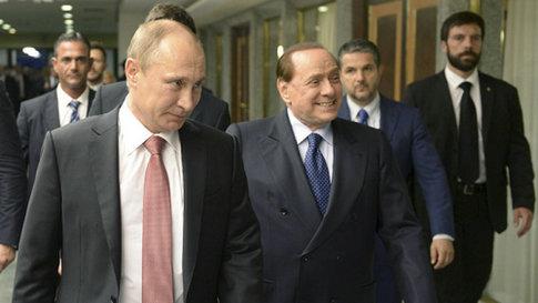 俄媒:贝卢斯科尼赴克里米亚私人访问 会晤普京